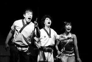 Comedy show of martial arts, Jump!
