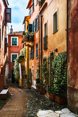 Gasse in Montemarcello (wiwenir) Tags: 2017 italien ligurien montemarcello zonesystemexpress paletteeffects