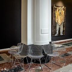 les chaises et le minotaure (Patrice Dx) Tags: chaises bozar art peinture minotaure