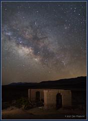The Mill 1754 (maguire33@verizon.net) Tags: california deathvalley deathvalleynationalpark lll milkyway mojavedesert galaxy iridiumflare meteor stars