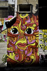 Colours (aerojad) Tags: eos canon 80d dslr 2017 city urban art artinpublicplaces streetart publicart mural murals graffiti vacation travel wanderlust graffitialley toronto canada vibrant colorful
