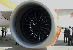 20170614_113459 (Roger Brown (General)) Tags: a320 neo new engine option is easyjets latest purchase their fleet 300th airbus purchased by easyjet has leap 1a leading edge aviation propulsion engines fitted collected from delivery centre toulouse flown via orly back luton 14th july 2017 orange roger brown canon sx610 hs