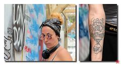 Force et courage .....La bombe dans la peau (2/2) (mamnic47 - Over 7 millions views.Thks!) Tags: ladéfense parvisdeladéfense 06072017 létéparisladéfense inauguration miaoutoograffiti tatouage tatoo disezlorella etesobritish