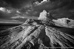 White Pocket in B&W (David Swindler (ActionPhotoTours.com)) Tags: blackandwhite drama whitepocket arizona southwest desert bw clouds