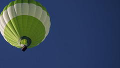 Up, up and away... (gimmeocean) Tags: hotairballoon balloon blois france loirevalley flame bluesky