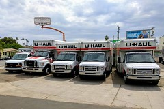 U-Haul (So Cal Metro) Tags: moving movers movingvan movingtruck relocation truck uhaul universityheights sandiego ford eseries econoline fseries f650 gmc savana boxvan