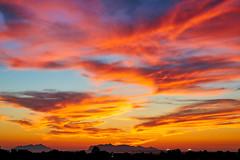 this evening (Giacomo Gabriele) Tags: sky cloud clouds sunset summer egadi islands sea colors favignana marsala marettimo golden