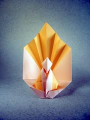 Buda - Viviane Berty (Rui.Roda) Tags: bouddha buddha origami papiroflexia papierfalten buda viviane berty