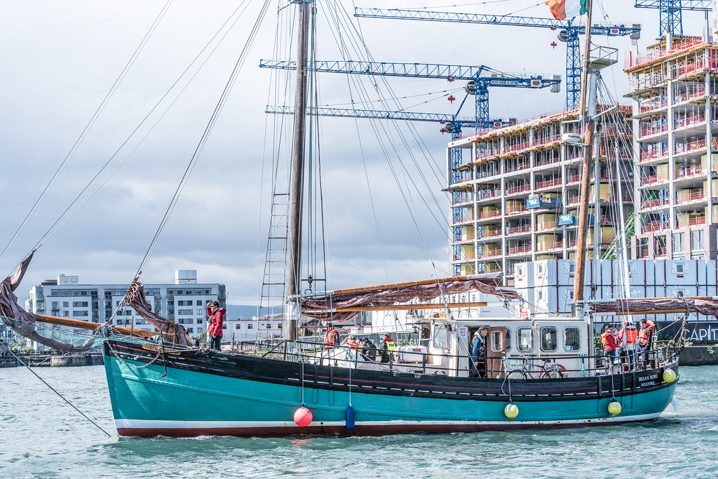 THE BRIAN BORU [SETS SAIL FROM DUBLIN AFTER THE DUBLIN PORT RIVERFEST 2017]-129413