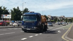 Scania Sludge Tanker (Woolfie Hills) Tags: scania gully emptier