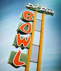 Del Rosa Lanes (Shakes The Clown) Tags: 500px bowling bowlingalley california canon5dmarkii flickr font googie illumination lights marcshur old retro sanbernardino signgeeks signlanguage signage signs smugmug typography vintage marcshurphotographycom