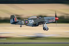 P51D 44-73877 (AdrianH Photography) Tags: nikon 300mmf4 nikon300mmf4pfvr aviation aeroplanes airshows aircraft warbirds duxford d500