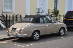 1998 Mitsuoka Viewt Convertible (Malc Edwards) Tags: malc london car vehicle mitsuoka viewt convertible 1968 nissan micra good bad ugly