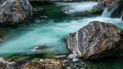 This might be my favourite picture of the workshop (katrin glaesmann) Tags: verzascatal verzascavalley valleverzasca tessin cantonofticino verzascariver workshop longexposure filter water rocks