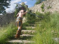 Shooting Skyrim - Ruines d'Allan -2017-06-03- P2090659 (styeb) Tags: shoot shooting skyrim allan ruine village drome montelimar 2017 juin 06 cosplay