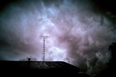 The Lightning Rod (Lana Pahl / Country Star Photography) Tags: cloudskiesoftheworld clouds cloudporn