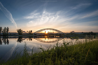 Sieversufer Berlin Sunrise