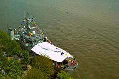 HMCS / Her Majesty's Canadian Ship 'Goose Bay' .... Toronto Harbour .... Toronto, Ontario (Greg's Southern Ontario (catching Up Slowly)) Tags: hmcsgoosebay royalcanadiannavy marineroyalecanadienne torontoharbour greatlakes watersedgepromenade canadiannavyship ship vessel canada canadian canadienne pennantnumber707 kingstonclass