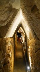 Första delen. (Veli Vilppu) Tags: archaeological borås egeiskahavet eupalinos eupalinostunnel greece grekland museum mäkikihniä pythagorion samos velivilppu belysning huka kil odysseus rör sten sverige sweden tunnel veli vilppu