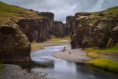Fjaðrárgljúfur III (Jack Landau) Tags: fjaðrárgljúfur fjadrgljufur iceland canyon river water stream long exposure landscape nature jack landau