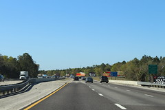 Florida I95nb St Johns County border (MJRGoblin) Tags: flaglercounty 2017 palmcoast florida interstate95 stjohnscounty