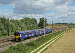 Scotrail move (DieselDude321) Tags: 318260 class 318 scotrail 5s20 1537 doncaster west yard shields tmd e raskelf north york yorkshire easingwold
