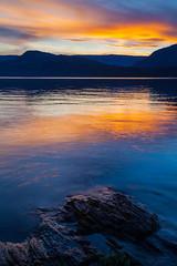 Shuswap Magic (stevenbulman44) Tags: canon color landscape rock water reflection sunset shuswap britishcolumbia tripod gitzo 1740f40l