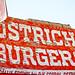 Ostrich Burgers