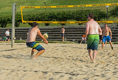 2017-06-12 BBV Men's Doubles (11) (cmfgu) Tags: craigfildespixelscom craigfildesfineartamericacom baltimore beach volleyball bbv md maryland innerharbor rashfield sand sports court net ball outdoor league athlete athletics sweat tan game match people play player doubles twos 2s men
