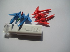 micro VV (Option!) Tags: vic viper micro 3d printed space fighter spacefighter gradius starfighter sweptwing