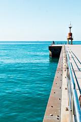 Gioia Tauro (pinomangione) Tags: pinomangione landscape paesaggio mare sea pontile gioiatauro