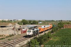 Tren de grán intervención (Adrian_Tresmil) Tags: renfe 333 zaragoza casetas tren gran intervención descarrilo