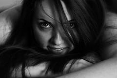 Occhi che bucano lo schermo! (Marco Palanca) Tags: occhi bella fede bw blackandwhite biancoenero