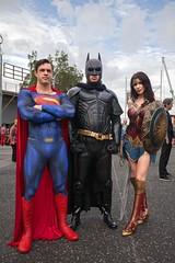Heroes and Heroine (l plater) Tags: superman batman dccomics wonderwoman marvelcomics 2017supanovaexpo sydneyolympicapark cosplay