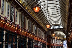 2017-05-14: Leadenhall Always (psyxjaw) Tags: london londonist walk cityoflondon city leadenhall market leadenhallmarket shopping ornate