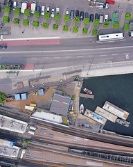 "(#droneview) | Centralbron (Swedish: [sɛnˈtrɑːlˌbruːn], ""The Central Bridge"") is one of the major traffic routes in central #Stockholm, #Sweden, connecting the northern district Norrmalm to the southern #Södermalm. It is 1,200 metres long and consists of (""guerrilla"" strategy) Tags: ifttt instagram droneview 