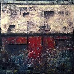 """Untitled (N° 55)"", mixed media by Cezary Gapik (CEZ-ART) Tags: cezarygapik abstract texture relief mixed media acrylic"