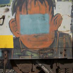 Boxcar Art (orangedot777) Tags: freighttraingraffiti boxcarart railart freightcar boxcar paintedsteel