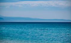 As blue as it can be (Vagabundina) Tags: italy italia south sea seascape water seaside beach sun waves gradation waterscape summer scenery landscape nature nikon dsrl nikond5300