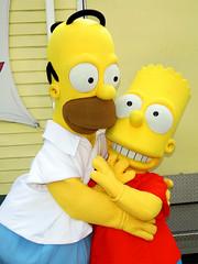 Homer and Bart Simpson (meeko_) Tags: homer bart simpson bartsimpson homersimpson simpsons thesimpsons characters universalorlandocharacters hollywood universal studios florida universalstudios universalstudiosflorida themepark orlando universalorlando