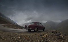 misty mountain hop (ziddharth) Tags: rohtangpass manalileh ladakh summerof14 ambassador gopro roadtrip