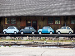 Quattro Cinquecento (wolfgangstreit) Tags: fiat cinquecento fiatcinquecento fiatfünfhundert oldtimer auto