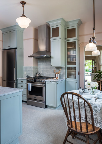 1900s Victorian Inspired Kitchen + Bath 012