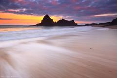 Trip to the sea (Hector Prada) Tags: amanecer mar oceano ola cielo nubes agua rocas paisaje sunrise sea wave sky clouds water rocks seascape paisvasco basquecountry