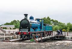 645 828 Aviemore 18 Jun 1994 Keith Sanders (Railcam) Tags: railway steam mcintosh 060 turntable strathspeyrailway 828 57566 aviemore