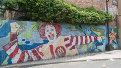 Roland McDonald Mural by Tats Cru, Allerton, Bronx, New York City (jag9889) Tags: 2017 20170614 allamericacity allerton bg183 bio bronx clown eastbronx fence graffiti graffitiartist how mcdonalds mural muralist nosm ny nyc newyork newyorkcity nicer outdoor painting ronald streetart tagging tatscru thebronx themuralkings usa unitedstates unitedstatesofamerica whiteplainsroad jag9889 us