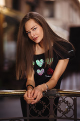 Raluca (lucafoscili) Tags: outdoor beautiful beauty charming city daisy dress eyes fashion fashionable female front girl glamour goodlooking hair look makeup model outfit people photoshoot portrait realpeople street style urban woman young milano lombardia italia it