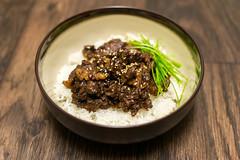 Beef Bulgogi (bricyman) Tags: nikon d3100 sigma 1835mm food korean bulgogi beef rice foodporn