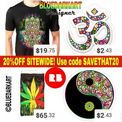 20%OFF #Sitewide! 💲 Use code SAVETHAT20 💲 on #BluedarkArt's @Redbubble #Shop!  https://www.redbubble.com/people/BluedarkArt/shop?asc=u   #4sale #sale #forsale #onsale #shopping #onlineshop #onlinestore #shoppingoninstag (BluedarkArt) Tags: onlinestore hamsahand duvetcovers merchandise onlineshop coolstuff marijuanarasta summershopping 4sale shopping forsale tshirts sale shop fashion sitewide home bluedarkart yinyang ecommerce stickers namaste shoppingoninstagram cooltees design onsale