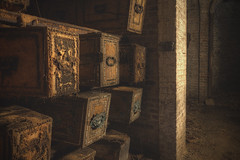 'Details' (Timster1973 - thanks for the 13 million views!) Tags: westnorwood cemetary catas catacombs death deceased dead laidtorest canon color colour timknifton timster1973 eerie creepy abandoned abandonedspaces haunt london uk unitedkingdom city norwood interior underground